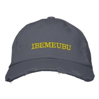 Be Yourself Embroidered Hat