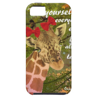 Be yourself no matter others say iPhone 5 case