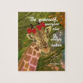 Be yourself no matter others say jigsaw puzzle