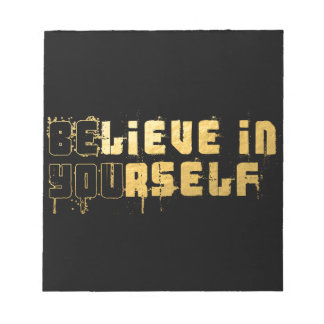 Be yourself notepads