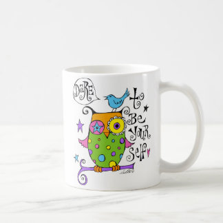 Be Yourself Owl Mug