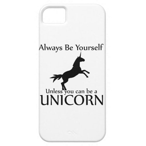 Be Yourself Unicorn iPhone 5 Covers