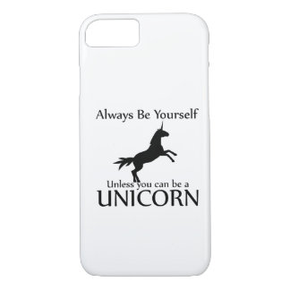 Be Yourself Unicorn iPhone 7 Case