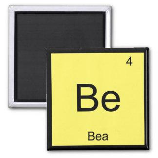 Bea Name Chemistry Element Periodic Table Fridge Magnet