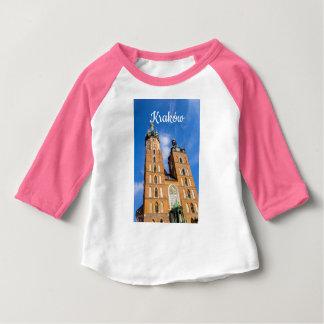 Beaautiful Krakow, Mariacki church, various gifts Baby T-Shirt