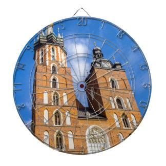 Beaautiful Krakow, Mariacki church, various gifts Dartboard