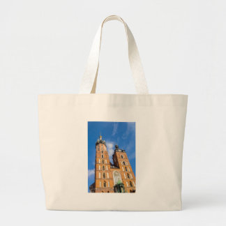 Beaautiful Krakow, Mariacki church, various gifts Large Tote Bag