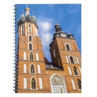 Beaautiful Krakow, Mariacki church, various gifts Notebook