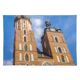 Beaautiful Krakow, Mariacki church, various gifts Placemat