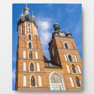 Beaautiful Krakow, Mariacki church, various gifts Plaque