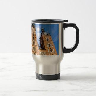 Beaautiful Krakow, Mariacki church, various gifts Travel Mug