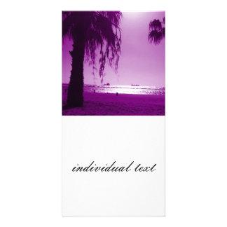 beach 13 photo greeting card