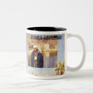 beach  2 copy, olcian 2, ARNOLD ABORETUM Two-Tone Coffee Mug