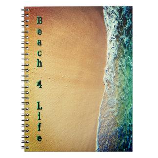 Beach 4 Life Notebook