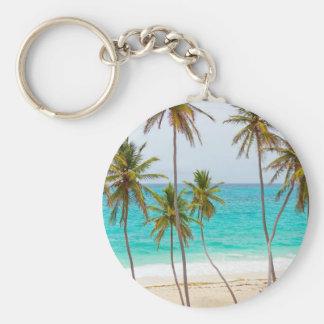 beach-70958_1280.jpg basic round button keychain