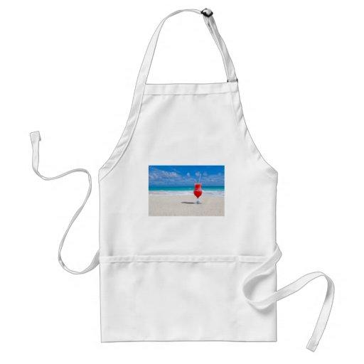 beach-84533 beach beverage caribbean cocktail drin apron