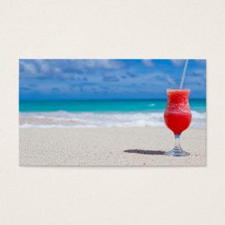 beach-84533 beach beverage caribbean cocktail drin business card