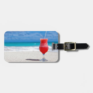 beach-84533 beach beverage caribbean cocktail drin luggage tag
