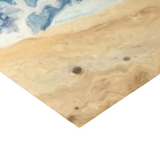 Beach Abstract Tissue paper