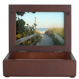 Beach Access Keepsake Box