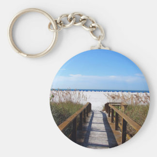 Beach Access Keychain