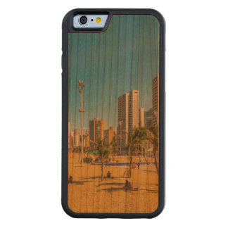 Beach and Buildings of Fortaleza Brazil Carved Cherry iPhone 6 Bumper Case