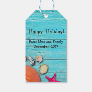 Beach and laziness gift tags