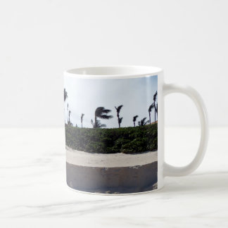 Beach and Palm Trees Coffee Mug