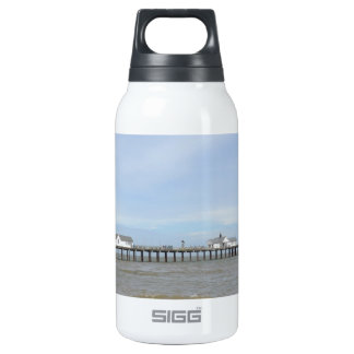 Beach And Pier At Southwold Suffolk Insulated Water Bottle