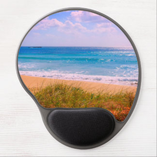 Beach and Sea with Dunes Gel Mouse Pad
