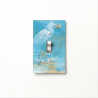 Beach Art with Snowy Egret | Light Switch Cover