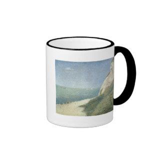Beach at Bas Butin, Honfleur, 1886 Coffee Mug