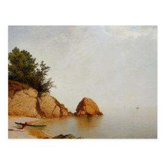 Beach at Beverly Postcard