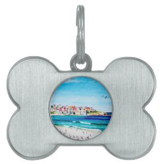 Beach at Bondi Pet ID Tag