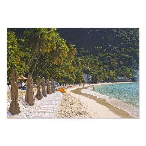 Beach at Cane Garden Bay, Island of Tortola Photo