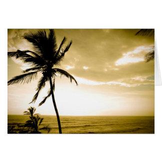 Beach at Goa Card