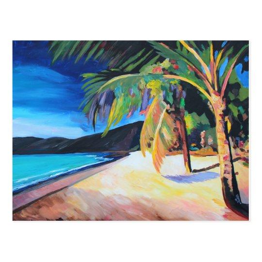 Beach at Magen's Bay St Thomas US Virgin Islands Postcard