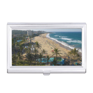 Beach At Margate, South Coast, Kwazulu-Natal 2 Case For Business Cards