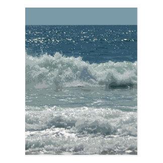 Beach at Montauk Postcard
