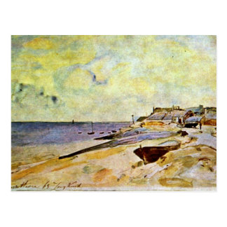 Beach At Ste. Address By Jongkind Johan Barthold ( Postcard