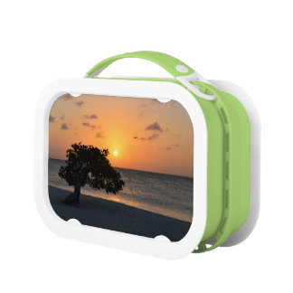 Beach at Sunset Lunch Boxes