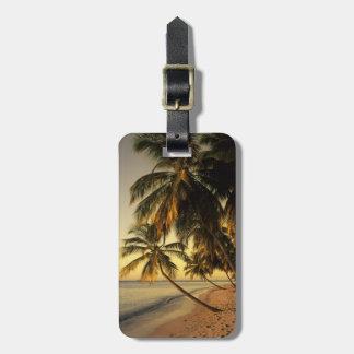 Beach at sunset, Trinidad Bag Tag