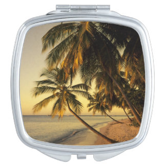 Beach at sunset, Trinidad Vanity Mirrors