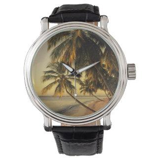 Beach at sunset, Trinidad Wristwatch