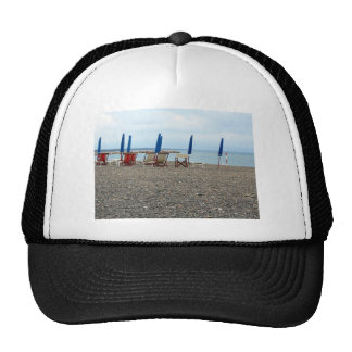Beach at sunset trucker hat