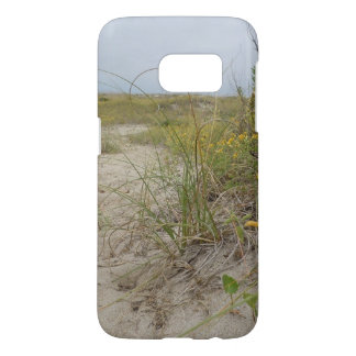 Beach Autumn Wildflowers Samsung Galaxy S7 Case