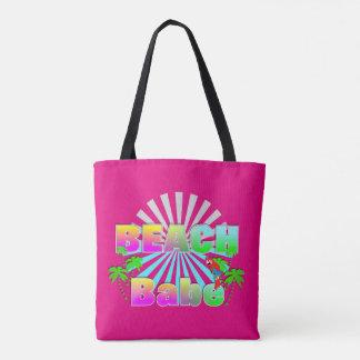 Beach Babe Summer Sun Exotic Holiday Tote Bag