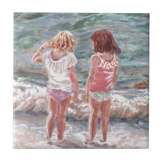 Beach Babies Tile
