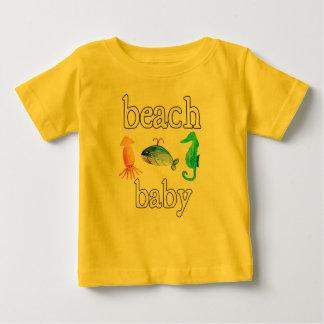 Beach baby sea creatures summer ocean tee
