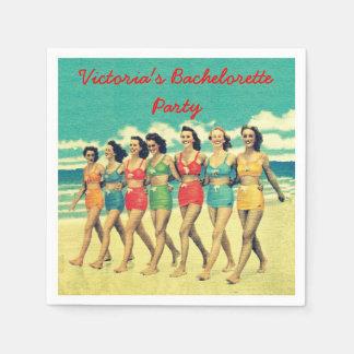 Beach Bachelorette Party party cocktail napkins Disposable Napkins